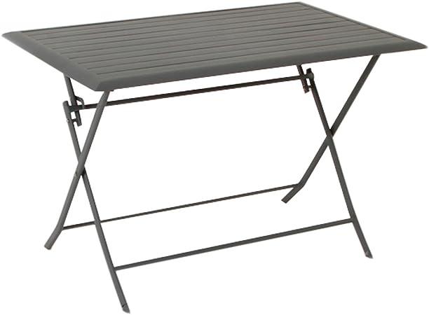 Table Pliante Rectangulaire Azua 4 Places Ardoise
