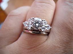 17k wedding rings