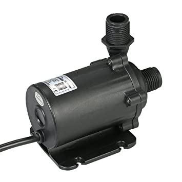 Amazon.com : Decdeal Submersible Water Pump, DC24V 91.2W 1500L/H Lift 15m, Bluefish Pump for Aquarium Fish Tank Tabletop Fountain Pond and Hydroponic ...