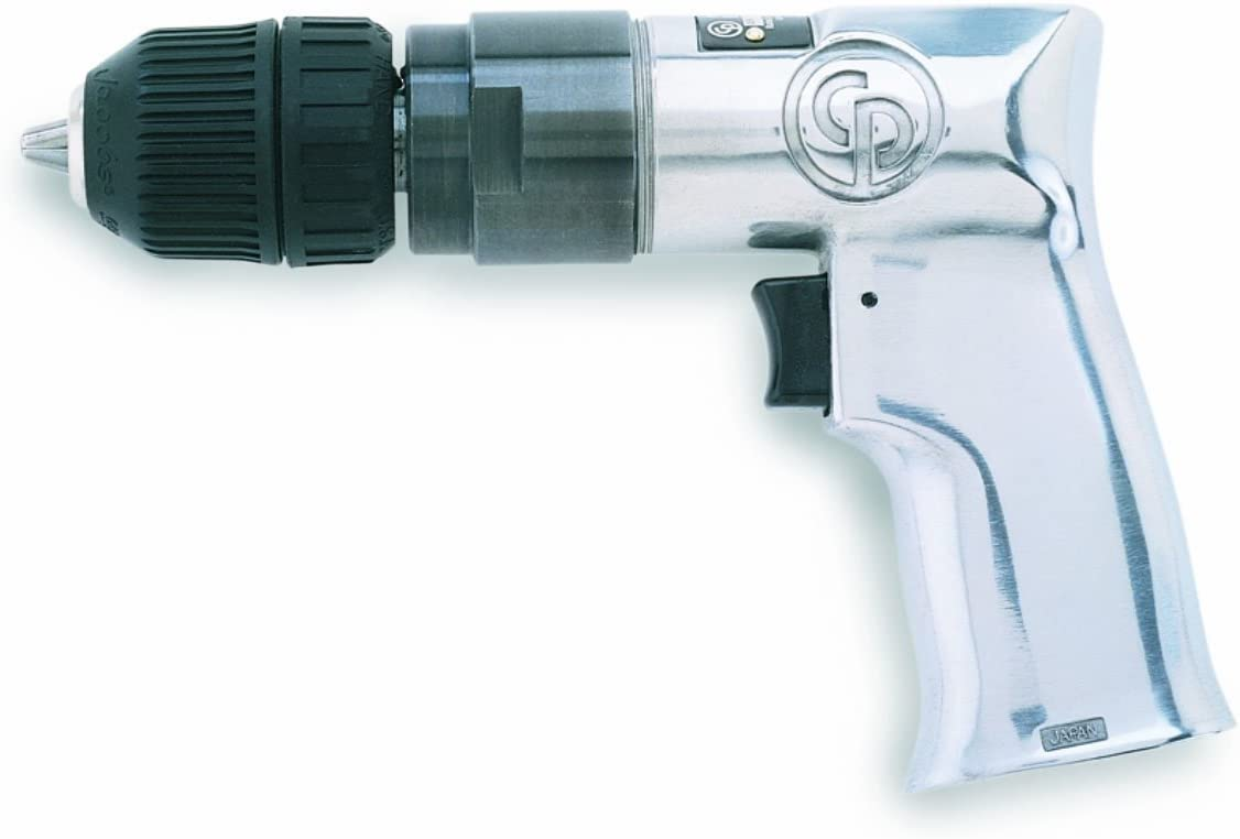 Chicago Pneumatic CP785 3/8-Inch Heavy Duty Drill with Keyed Chuck