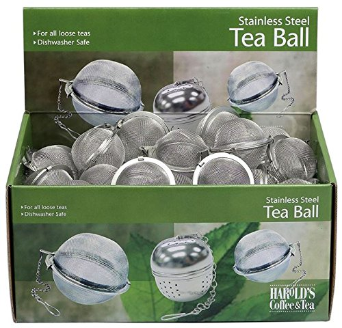 Hic D2360 Mesh Tea Ball, Stainless Steel, 2'' by HIC Porcelain