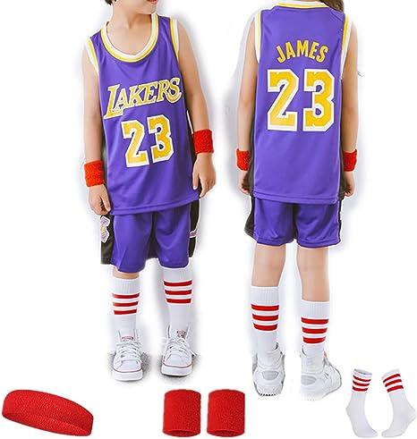 23 fanáticos de Lebron James Conjuntos de Jersey de Baloncesto de ...
