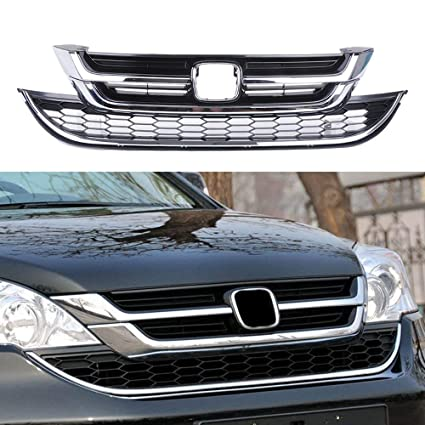 NEW HONDA CR-V FRONT CENTER GRILLE WITH CHROME TRIM WITHOUT