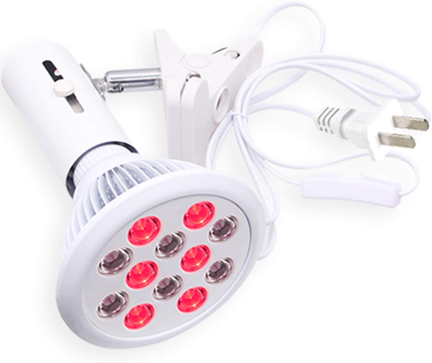 Stardust – Red Light Therapy Bulb Near Infrared Device with Adjustable Socket Clamp Hands-Free 660nm and 850nm LED