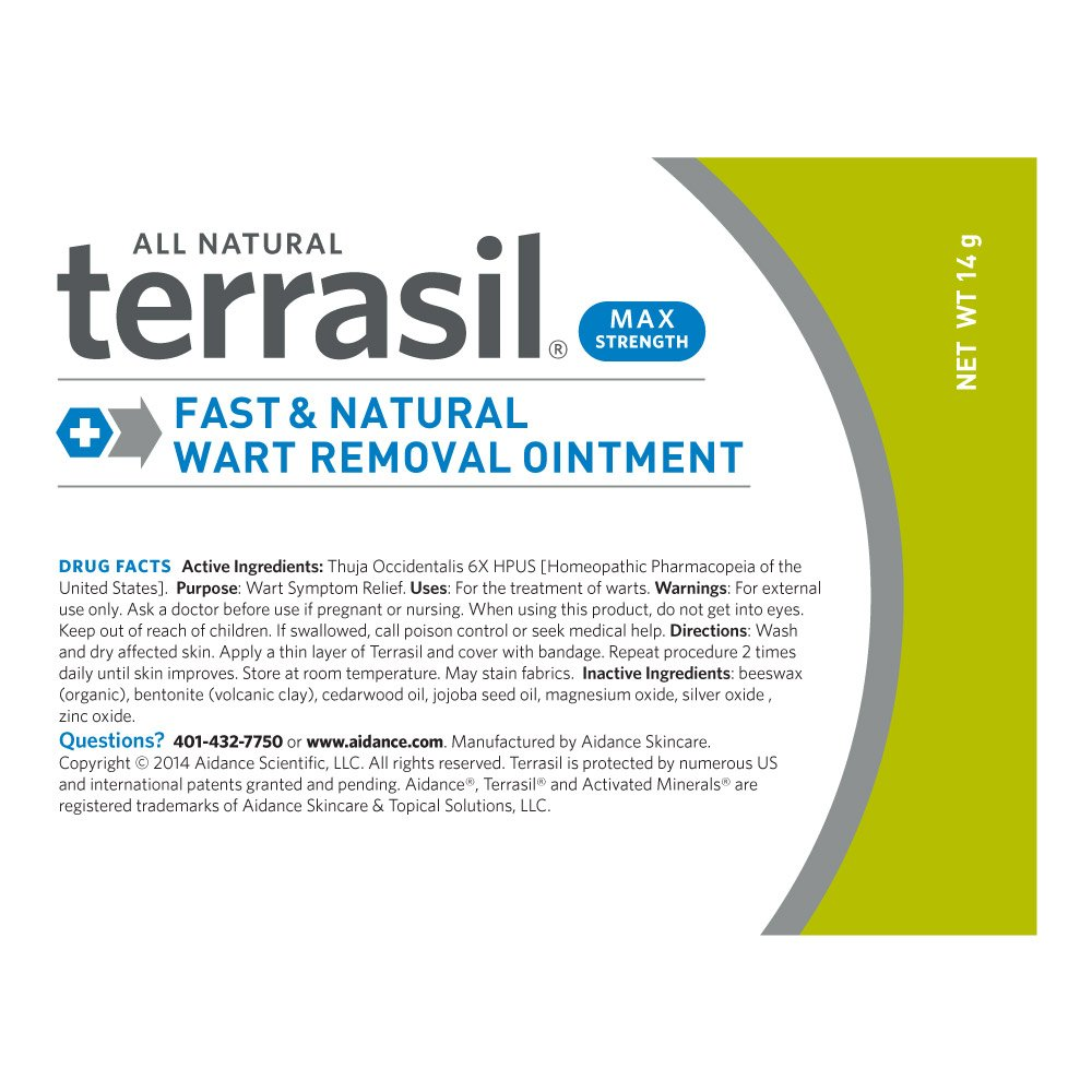 Wart Remover - Safe for Sensitive Skin Dr Recommended 100% Guaranteed All Natural Pain Free Salicylic Acid Free Patented Treatment for Plantar Genital Facial Warts by Terrasil by Aidance Skincare & Topical Solutions (Image #8)