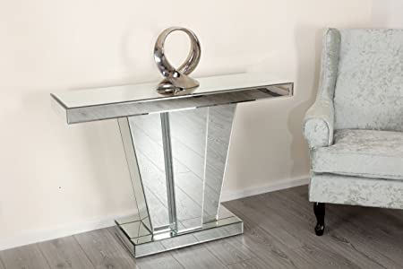 hallway table and mirror. Mirror Console Table Mirrored Dressing Hallway Art Decor Bedroom Home Furniture (Mirror - V And Q