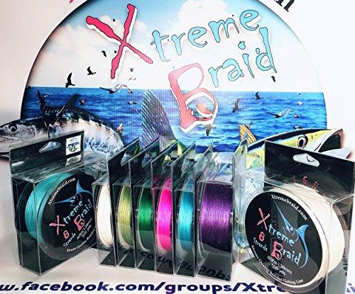 8 Slicks 50# Blue Braids 1093 yds L.A. Stock (PROMOTION PRICE)