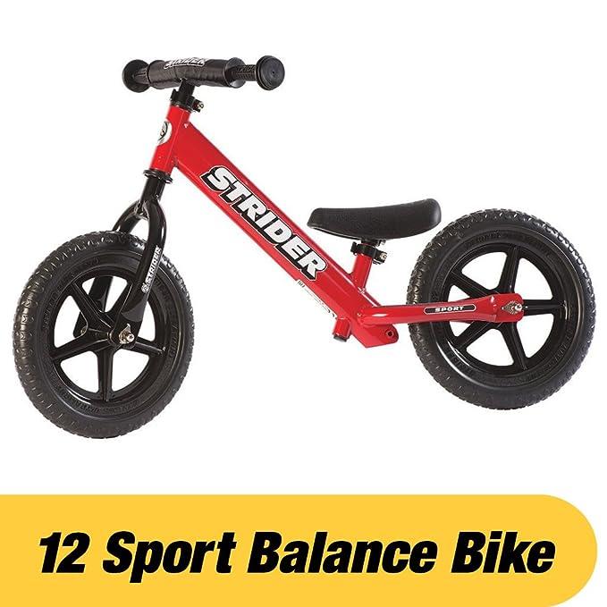 59 opinioni per Strider 12 Sport Balance Bike, Bicicletta per Bambini, 18 Mesi- 5 Anni, Rosso