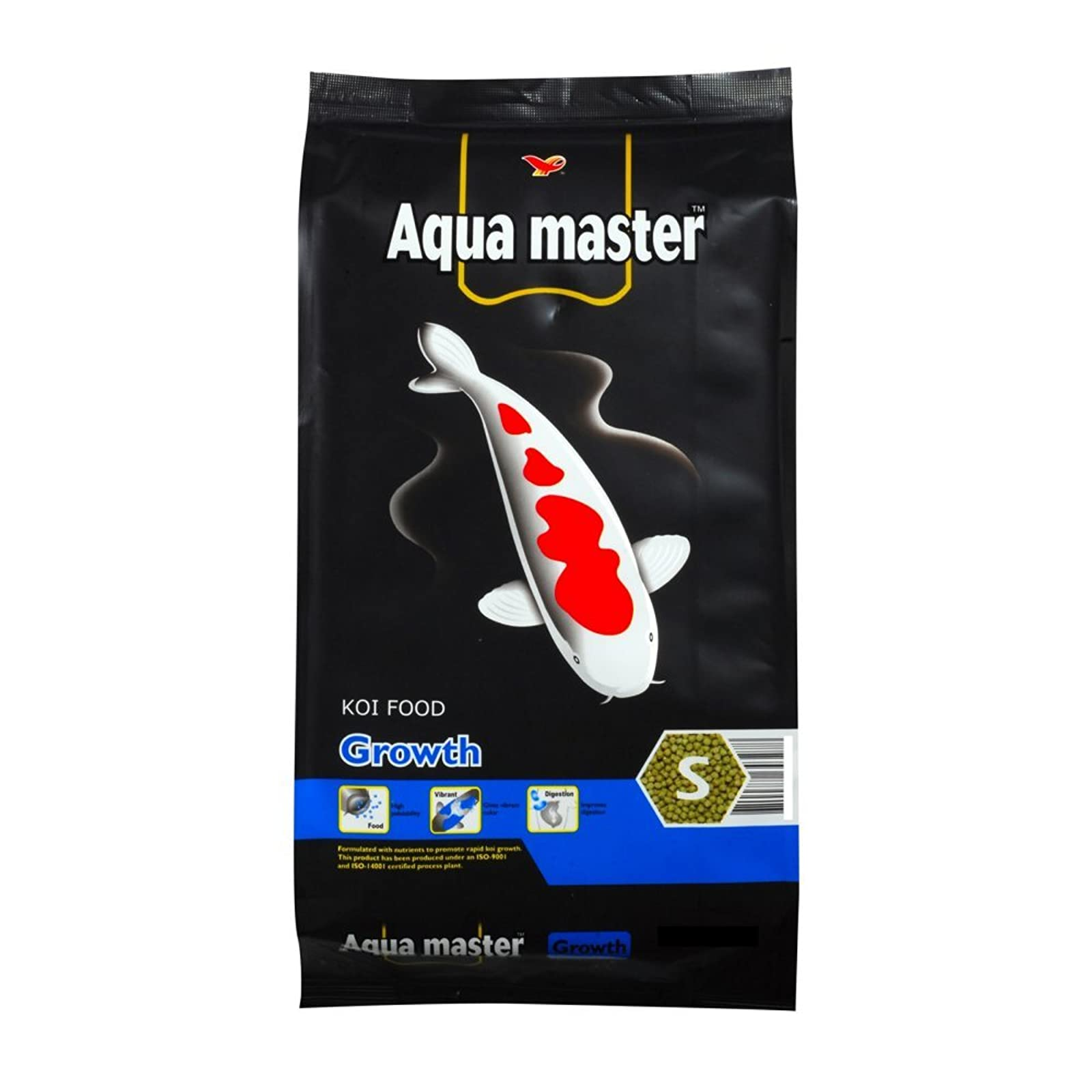 Aqua Master Growth Fish Food 22-Pound/Bag Small Growth 22 - 1