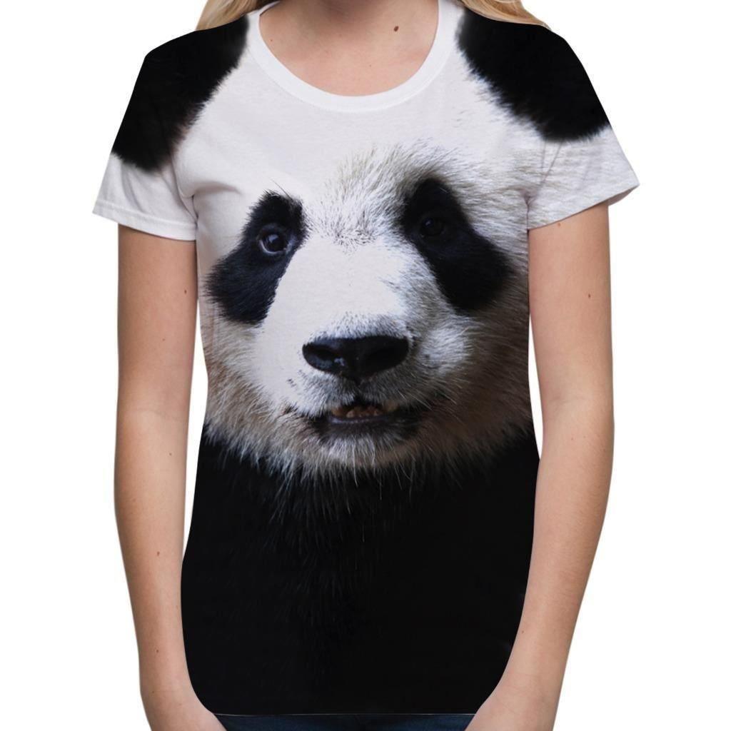 b373940951ff Bang Tidy Clothing Women s Graphic Tee Sublimation T Shirt Cute Tee Shirt  Panda 3D T Shirt