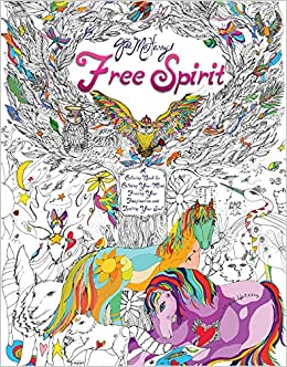Amazon Free Spirit A Coloring Book For Calming Your Mind Freeing Imagination And Igniting Soul 9781501134371 Jes MaHarry Books