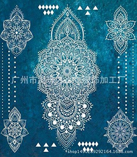 SANMULYH Toalla De Playa Cuadrado Impreso Tapicería Tela Toalla Chal,L,150X205Cm.: Amazon.es: Hogar