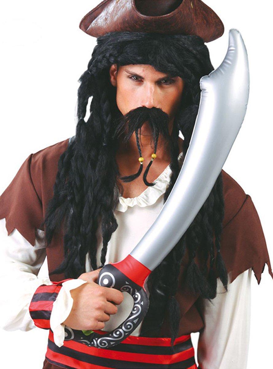 Guirca - Espada Pirata Hinchable, Multicolor, 18243: Amazon.es ...