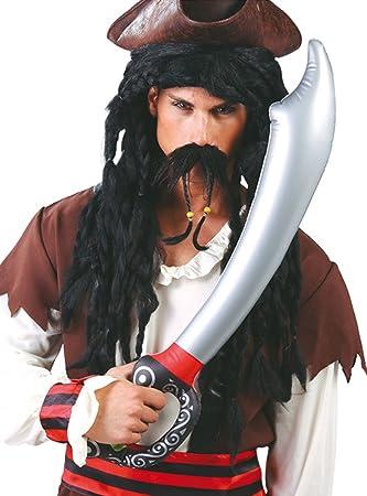 Guirca - Espada Pirata Hinchable, Multicolor, 18243: Amazon ...
