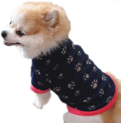 Pet Dog Winter Soft Warm Coat Sweater Puppy Fleece Vest Jacket Clothes 7 Sizes