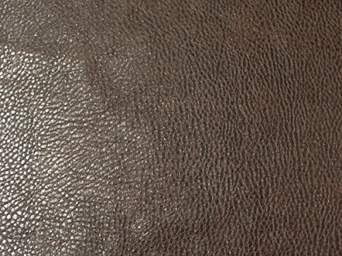 Ford Upholstery Faux Leather Vinyl Fabric (Dark Brown) ()