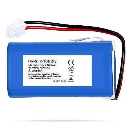 Rfeng 14,4 V 2,6 Ah Accesorios de batería Compatible con ...