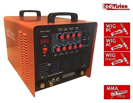 Wig AC/DC de 200 Pulso + E de mano MMA Inverter sudor dispositivo 230