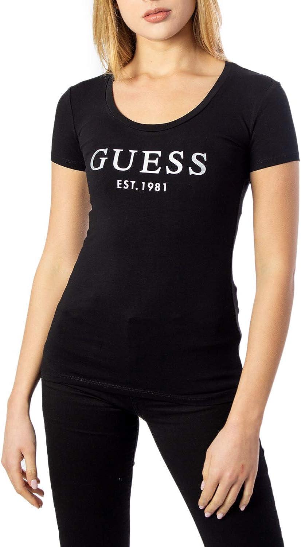 Guess T-Shirt Donna SS CN Mini Logo Tee w0gi0jj1300