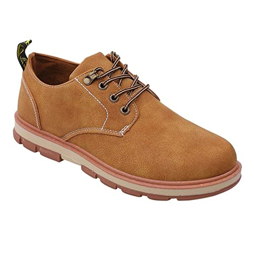 Yudesun Hombre Zapatos de Cordones - Náuticos Punta Redonda Ligero Confortable Retro Clásico Casual Moda Zapatos de Conducir: Amazon.es: Zapatos y ...