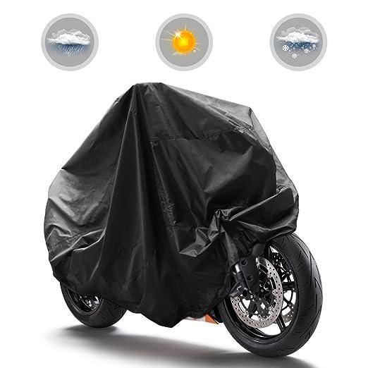 112 opinioni per GHB XL Telo Coprimoto Copri Moto Scooter 190T Impermeabile Antipolveri Anti-UV