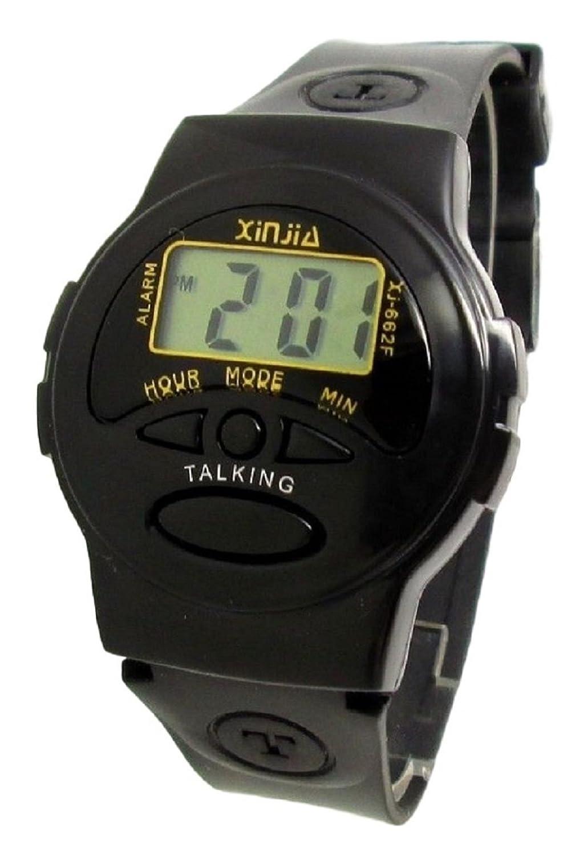 Orologio parlante in francese ideale per persone non vedenti amazon it orologi