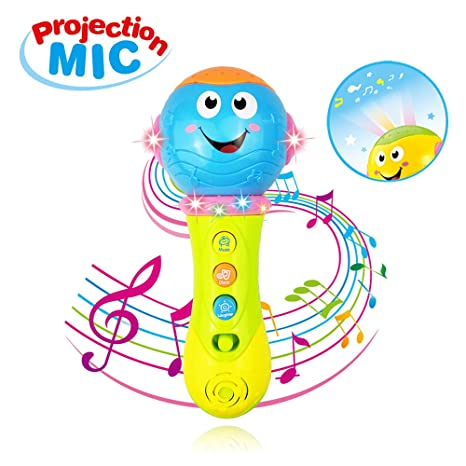 Christmas Gifts For 18 Month Old Boy.Biyaso Music Microphone Toy For 12 36 Months Baby Boy Girl Kid Best Christmas Toy Gift