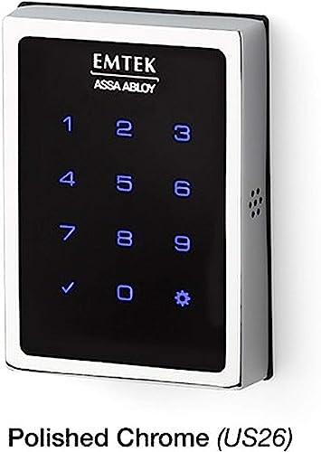 Emtek Empowered Motorized Touchscreen Keypad Smart Deadbolt
