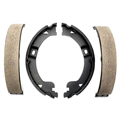 Raybestos 761PG Professional Grade Parking Brake Shoe Set - Drum in Hat: Automotive