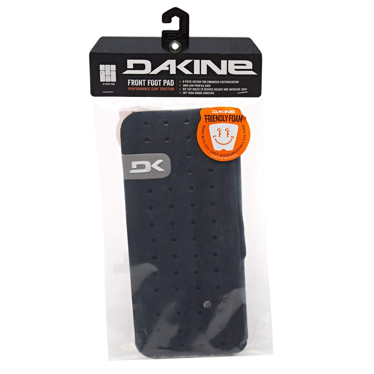 Dakine Front Foot Surf Traction Pad, Black, One Size by Dakine