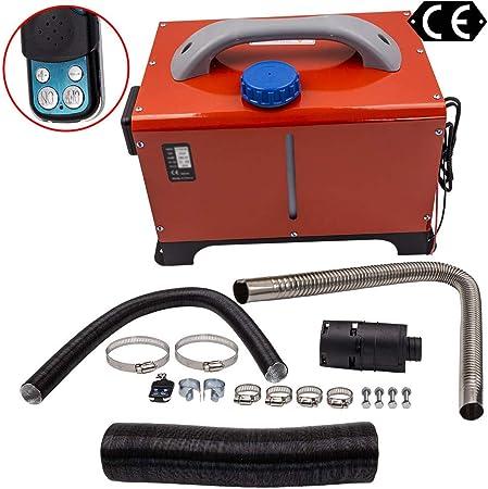 Maxpeedingrods Standheizung Luftheizung Thermostat 5kw 8kw Mit Fernbedienung Für Lkw Wohnmobil Auto