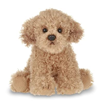 Bearington Lil' Doodles Small Plush Labradoodle Stuffed Animal Puppy Dog, 6.5 inches: Toys & Games