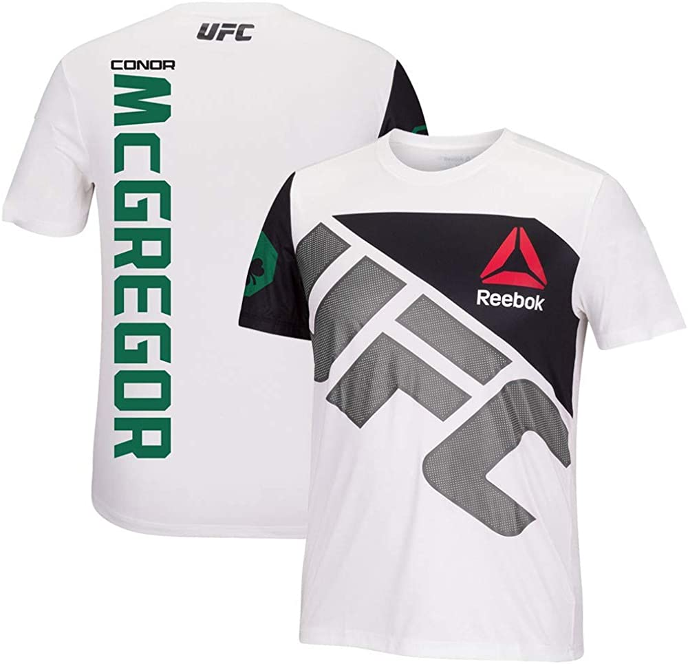Reebok Conor McGregor UFC Fight Kit Officiel (BlancVert