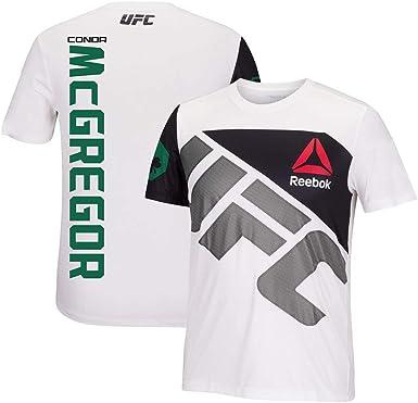 Conor McGregor T-Shirt MMA UFC MMA Entrainement Boxe Haut Gym Tee