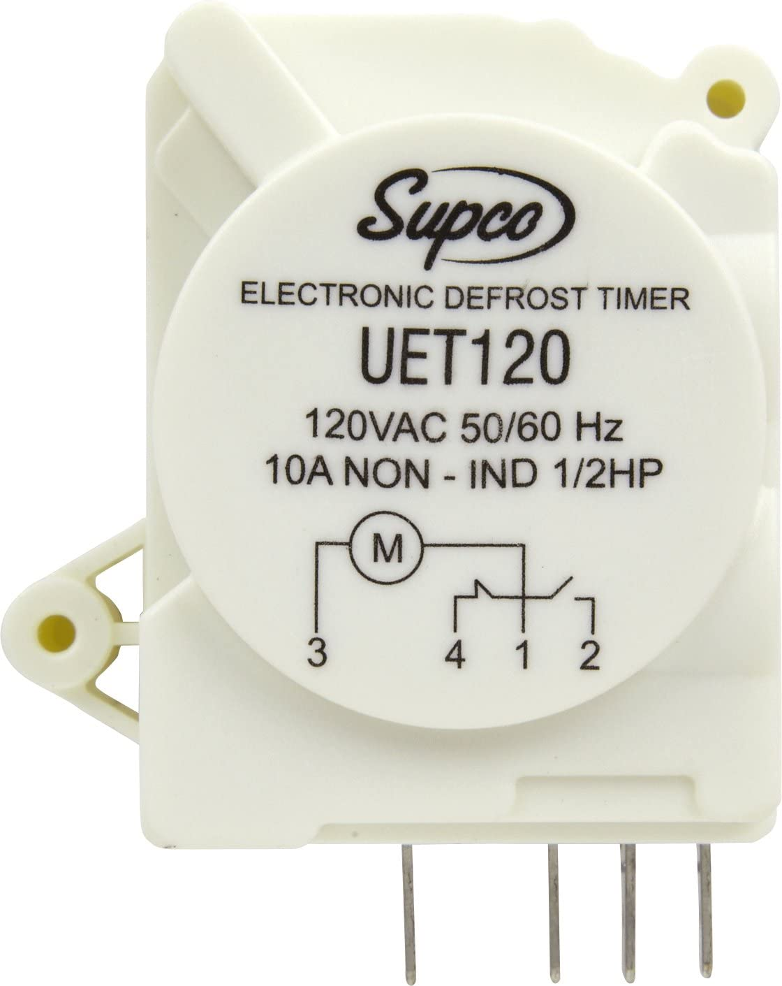 Supco UET120 Refrigerator Defrost Timer Control Universal 120 Volt Electronic