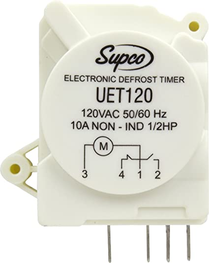 amazon com: supco uet120 refrigerator defrost timer control universal 120  volt electronic: home improvement