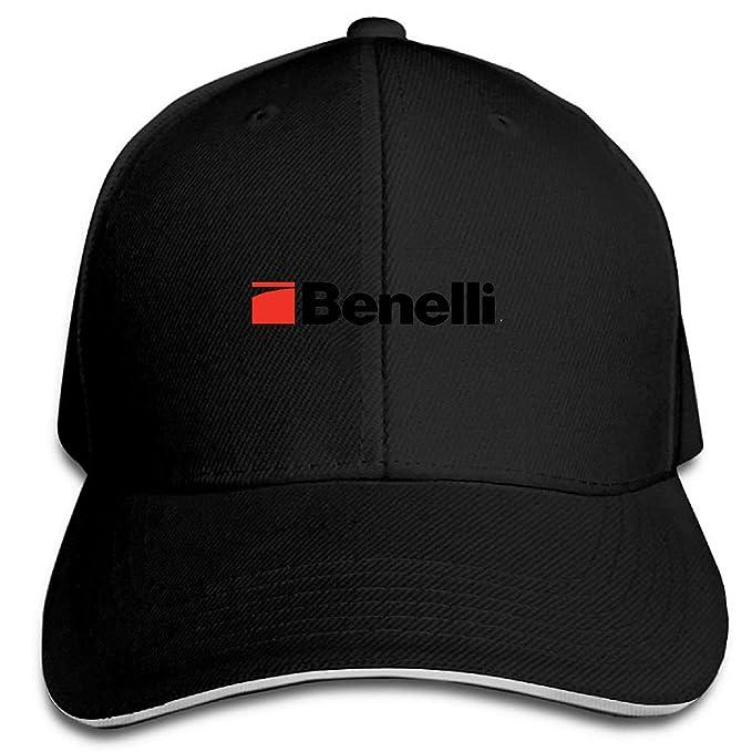 Hittings Benelli Logo Solid Snapback Cap Black