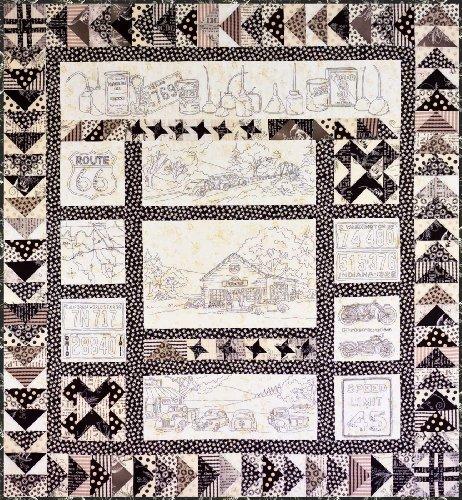 Crabapple Hill Pattern - VINTAGE TIN - Item 274 -