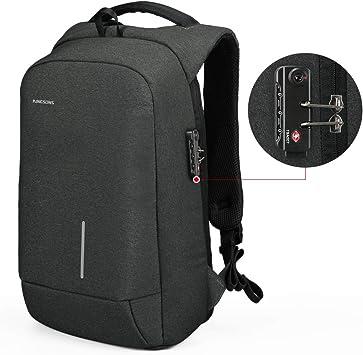Anti-Diebstahl-Rucksack mit USB-Anschluss Rucksack Sporttasche Laptop Backpack