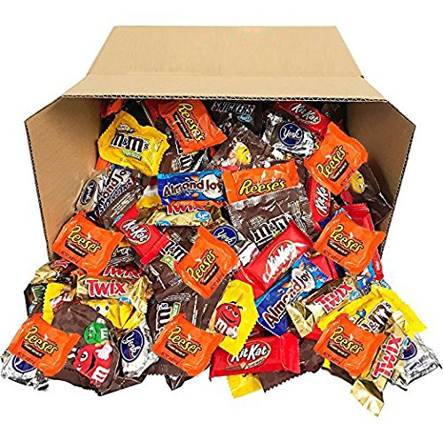 Candy & Chocolate HERSHEY'S Nestle M&M'S Variety Assortment Mix Bulk Value (5.62 Pound) (Chocolate Wrapped Custom)