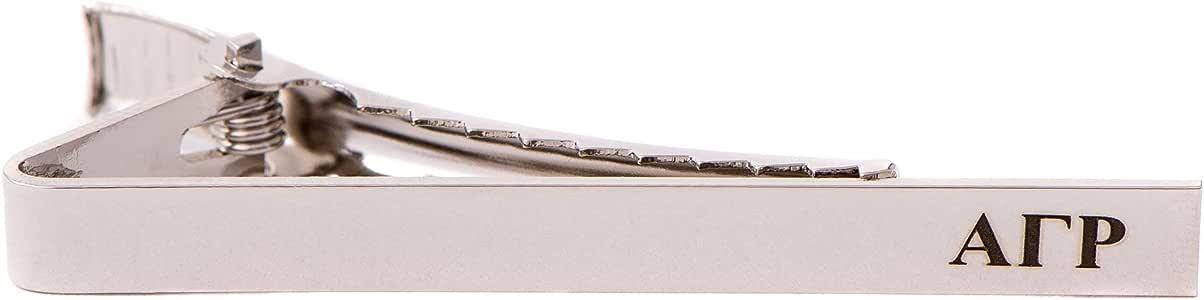 Alpha Gamma Rho AGR Fraternity Gold Color Crest Tie Bar//Clip AGR