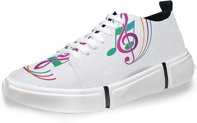 FANTAZIO - Zapatillas de Running para Hombre, diseño de Notas ...