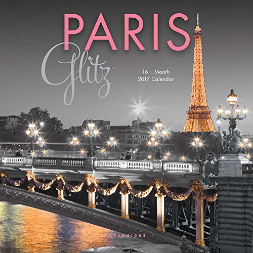 Paris Glitz 2017 Small Wall Calendar