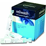 Reliance Medical 901 Sterile Saline Eyewash 20 mL Ampoules, Plastic (Pack of 25)