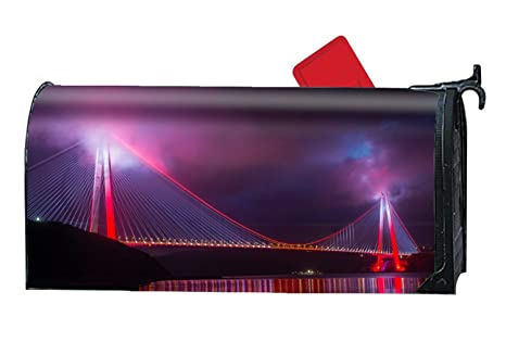 Amazon.com: Verna Christopher Bridge Night City Lighting ...