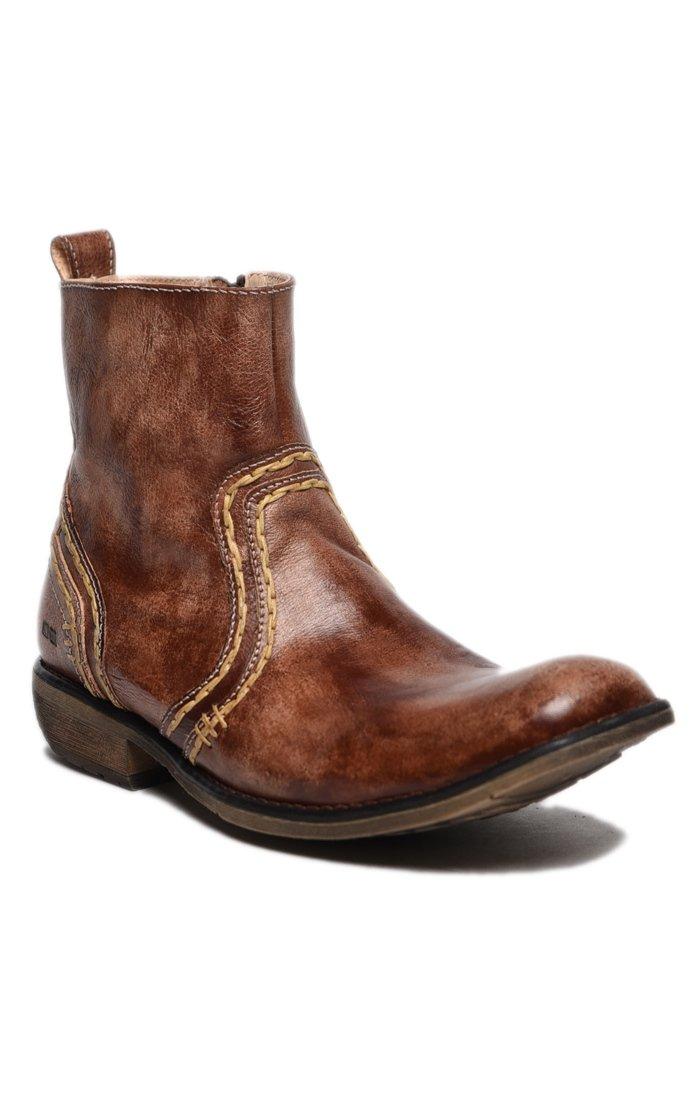 Bed|Stu Men's Revolution Leather Boot (10 D(M) US, Teak Driftwood)