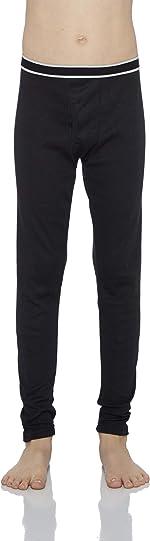 Rocky Boy's Fleece Lined Thermal Leggings Long Underwear Kids Base Layer