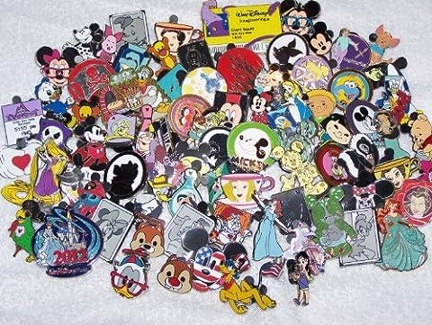 Disney Trading Pins Lot of 100 (Disney Pin Grab Bag)