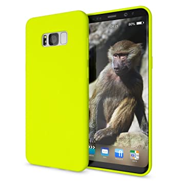 NALIA Funda Neon Compatible con Samsung Galaxy S8 Plus, Carcasa Protectora Movil Silicona Ultra-Fina Gel Bumper, Ligera Goma Cubierta Cobertura ...