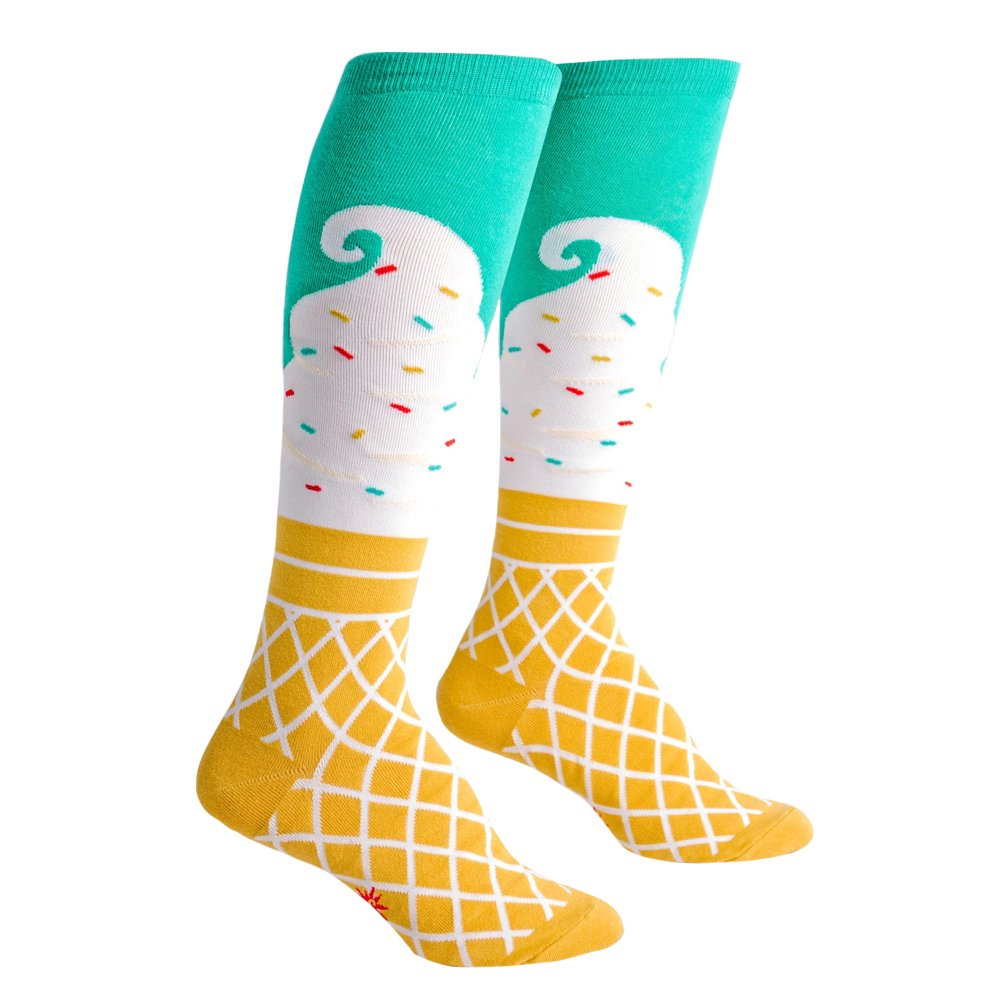 Sock It To Me Ice Cream Dream Knee High Socks F0289